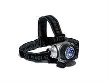 Lampe frontale 10 leds + 2 leds rouges