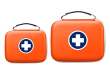 Trousses de secours SaveBox oranges