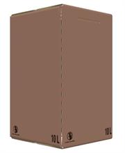 Carton Bib Bag in Box 10L Flexo Oenobag Ecru