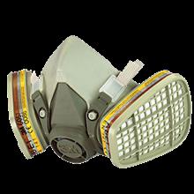 Masque intégral 6200 3M™ avec cartouches A2P3