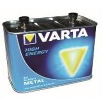 Piles alcalines métal 4R25.2 High energy